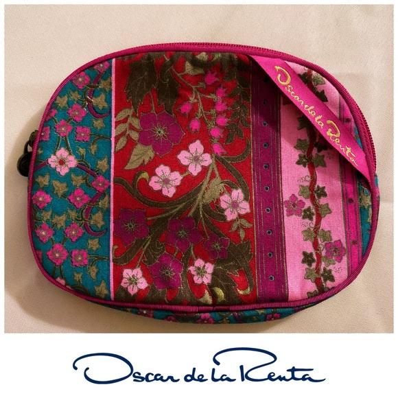Oscar de la Renta Handbags - Vintage Oscar De La Renta Makeup Travel Pouch